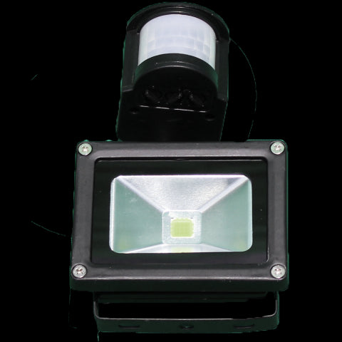 Flood light 12V DC with motion sensor