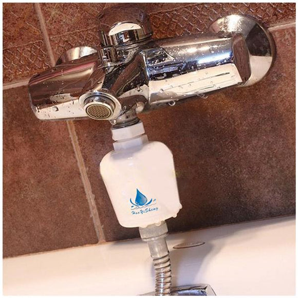 Bath Shower Kitchen Water Filter Purifier Hydrant Tap Remove Softner Wash Clean Head