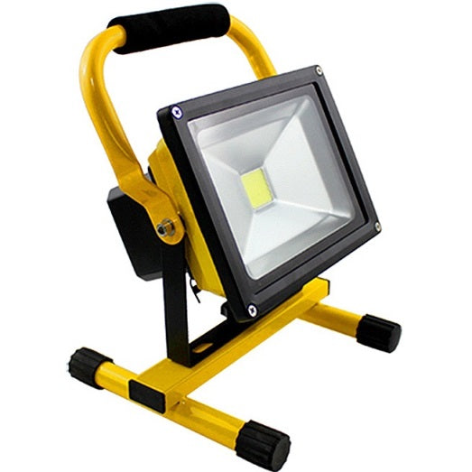 Flood light 20W rechargeable with stand
