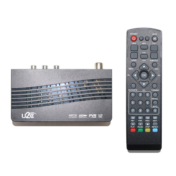 U2C DVB-T2-115 DVB-T2 H.264 HD TV Signal Terrestrial Receiver Set Top Box Support USB
