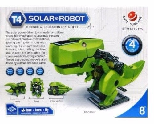 Brand New, Dinosaurs Transformfor Solar Robot Kit