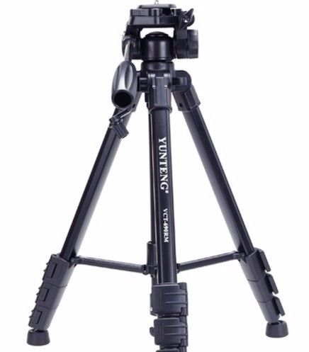 Professional VCT-690 Portable Camera Tripod Stand With Portable Bag