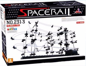 Brand New, Space Rail Marble Roller Coaster With Steel Balls Level 3 16000mm Spacerail Spacewarp