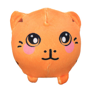 3.5 Squishamals Tiger Squishy Foamed Stuffed Squishimal Toy Slow Rising Plush Toy Pendant""