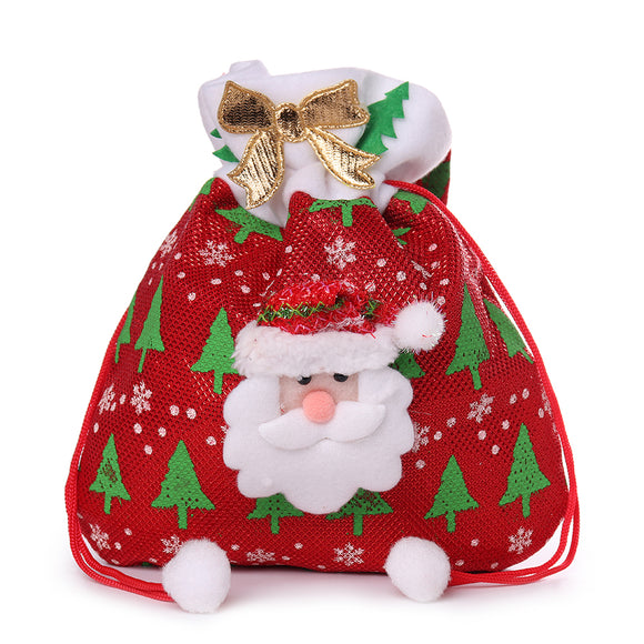 Christmas Gift Bag Christmas Event Party Cute Candy Bag Handbag For Women Men