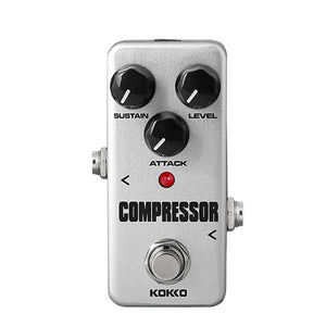 Flanger FCP-2 Compressor Mini Guitar Effects Pedal Instrument Guitar Parts