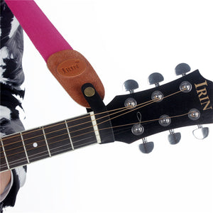 SLADE Acoustic Guitar Neck Strap Button Headstock Adaptor Synthetic Leather for Guitar Parts