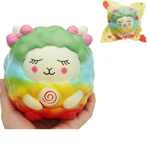 Galaxy Sheep Squishy Lamb 12.5cm Sweet Soft Slow Rising Collection Gift Decor Toy