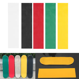 Colorful Skateboard Deck Sandpaper Grip Tape Griptape Skating Board Sticker