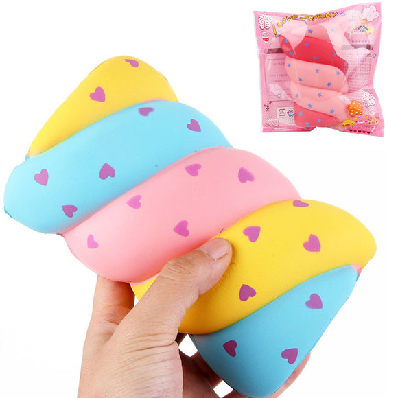Cotton Candy Squishy 14*9.5*5.5CM Soft Slow Rising With Packaging Collection Gift Marshmallow Toy