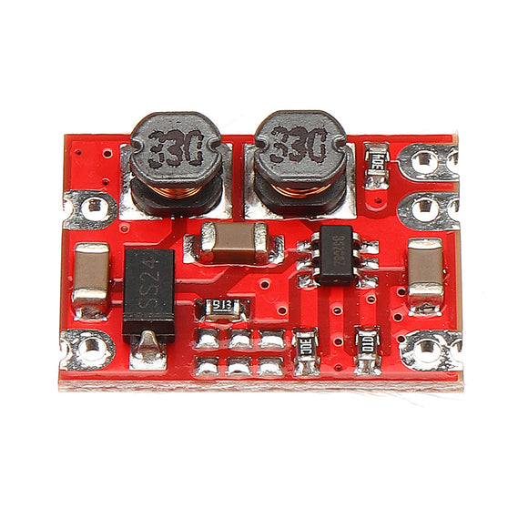 3pcs DC-DC 2.5V-15V to 3.3V Fixed Output Automatic Buck Boost Step Up Step Down Power Supply Module