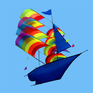 Huge 373D Stereo Sailboat Kite Big Size Flying Free Shipping Outdoor Toy""