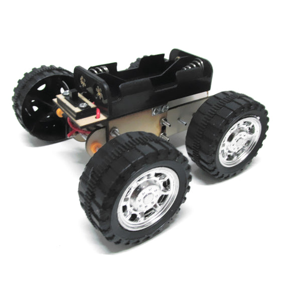 2 In 1 DIY Educational Electric Remote Control Car Quadruped Crawler Robot Scientific Invention Toy