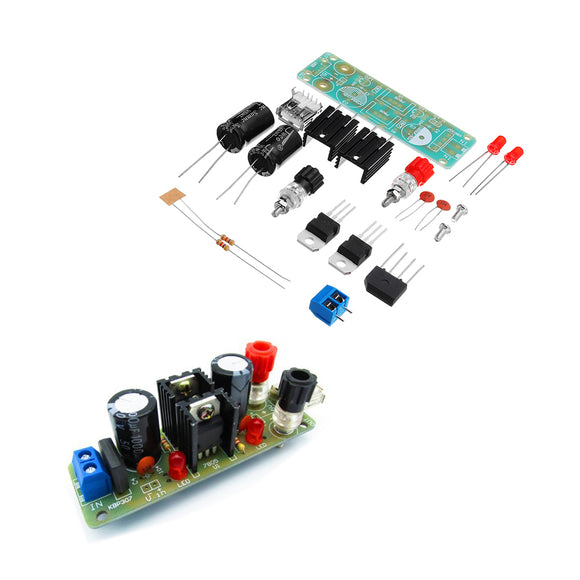 10pcs DIY Double LM7805 Diffuser Regulator Module Kit 5V 3A Solar Energy Regulator Generator Module