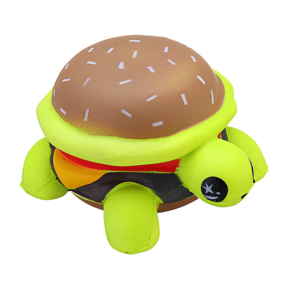 Squishy Tortoise 8*10*6cm Slow Rising With Packaging Collection Gift Soft Toy Green Turtle