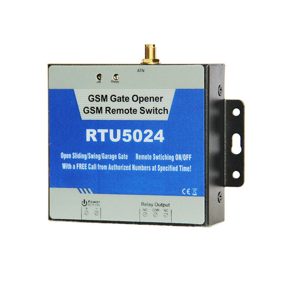 RTU5024 GSM Gate Opener Relay Switch Remote Access Control Wireless Door Opener