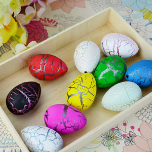20PC Large Funny Magic Growing Hatching Dinosaur Eggs Christmas Child Science Toy Gifts