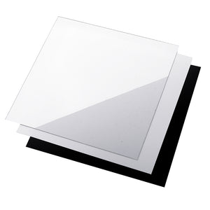 250*250*0.5mm Polyetherimide PEI Sheet With 3M Backing Glue For 3D Printer Heated Bed