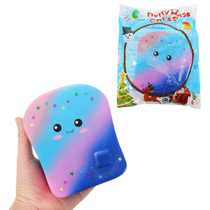 Chameleon Galaxy Bread Toast Squishy 15CM Kawaii Slow Rising With Packaging Collection Gift Soft Toy