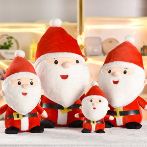 25cm 30cm 50cm Santa Claus Doll Christmas Stuffed Plush Toy Cute Gift