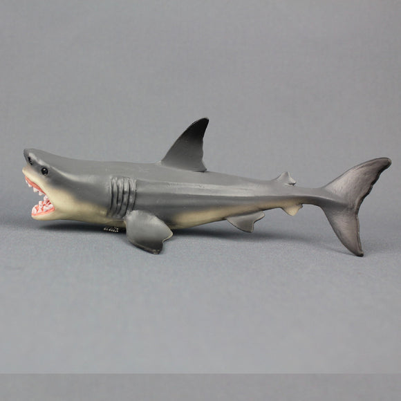Megalodon Prehistoric Shark Toy Model Diecast Model Desk Decor Home