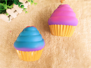 Ice Cream Squishy Big Cup Cake 12CM Cute Jumbo Gift Collection With Packaging