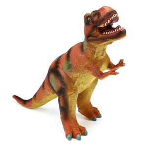 Large 21 Soft Stuffed Rubber Dinosaur T-Rex Tyrannosaurus Play Toy Animal Figures Diecast Model""