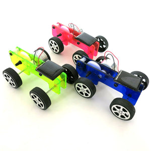 DIY Solar Power Car Physics Experiment Science and Technology Puzzle Toy Kit