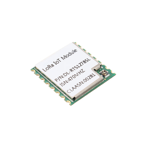 3000M SX1278 / SX1276 470MHZ Wireless LoRa Module Long Range SPI Port Clip