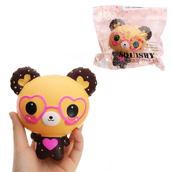 QQ Bear Squishy 12*11*8CM Slow Rising With Packaging Collection Gift