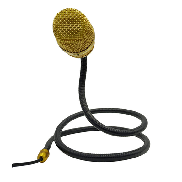 6.35mm Plug Neck Collar Hanging Microphone for Mic Musical Instrument
