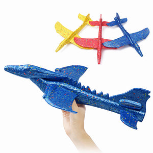 Inertial Foam EPP Airplane Dinosaur Winged Dragon Plane Toy 48cm