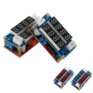 5A CC CV Step Down Digital Adjustable Receiver Charge Module With LED Display For Arduino Blue/Red