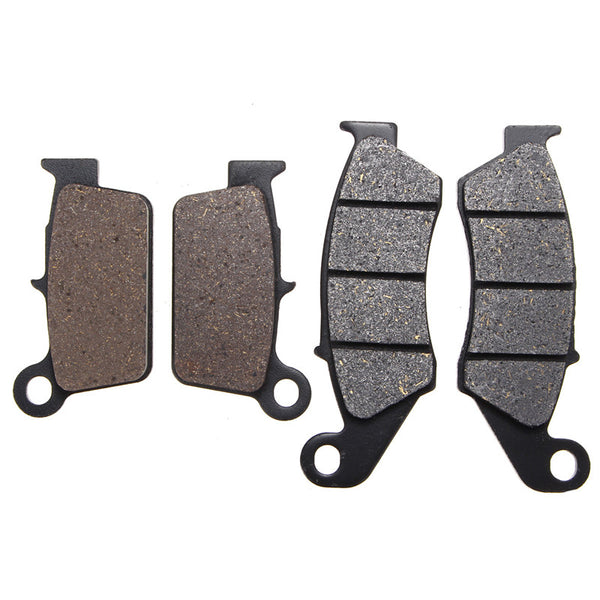 Front+Rear Brake Pads For Suzuki/Yamaha/Kawasaki/GAS-GAS/BETA/APRILIA KX 250 KLX 450 KX 450