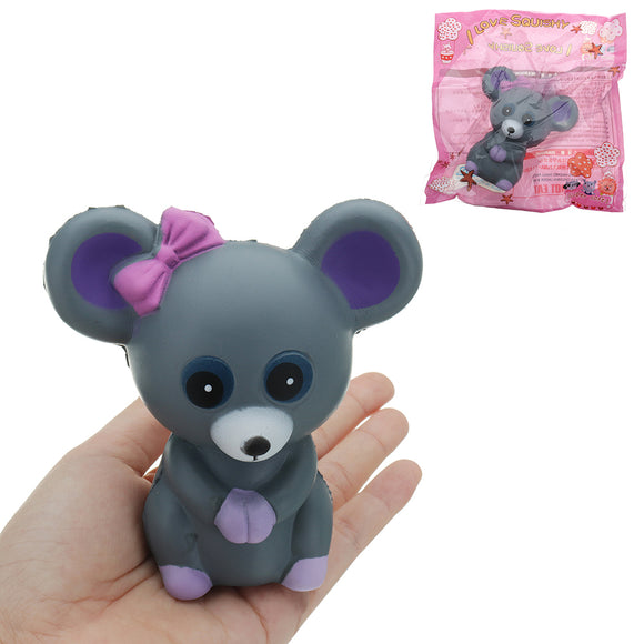 Mouse Squishy 10.5*10*6CM Slow Rising With Packaging Collection Gift Soft Toy