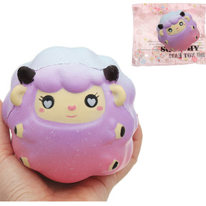 Galaxy Sheep Squishy Lamb 10cm Sweet Soft Slow Rising Collection Gift Decor Toy