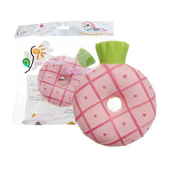 Pineapple Donut Squishy 10*12CM Slow Rising Soft Toy Gift Collection With Packaging
