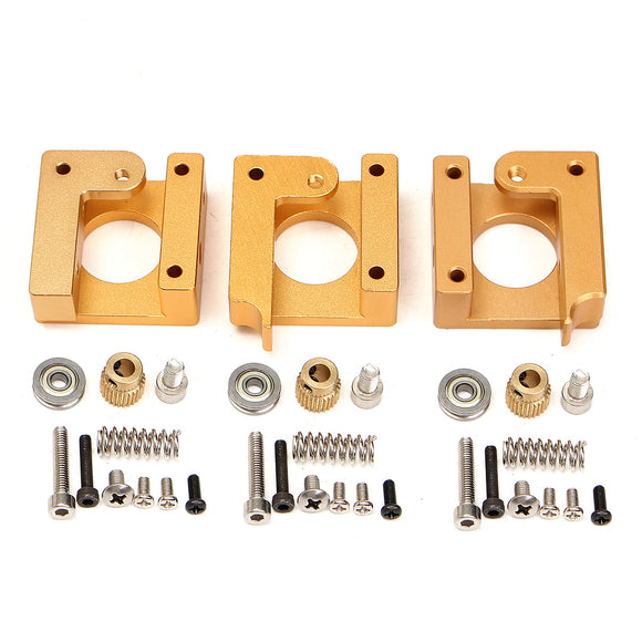 3D Printer MK8 Extruder Aluminum Frame Block Steady Frame DIY Kits Repair Parts