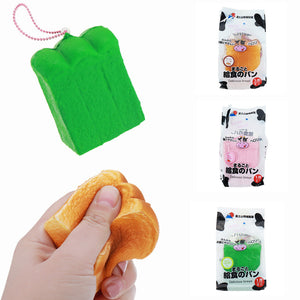 ZUO&AND Squishy Milk Toast Slow Rising Bread Scented Gift With Original Packing