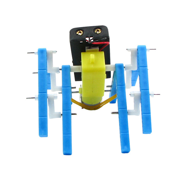 DIY Electric Eight legged Robot DIY Educational Toy Robot Assembled Toy For Children