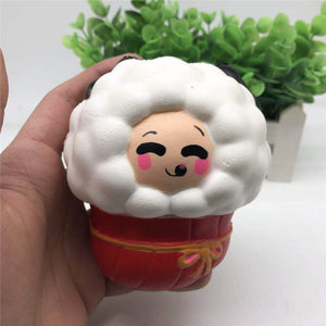 Squishy Sheep 15.5*10.5*8cm Soft Slow Rising Collection Gift Decor Toy