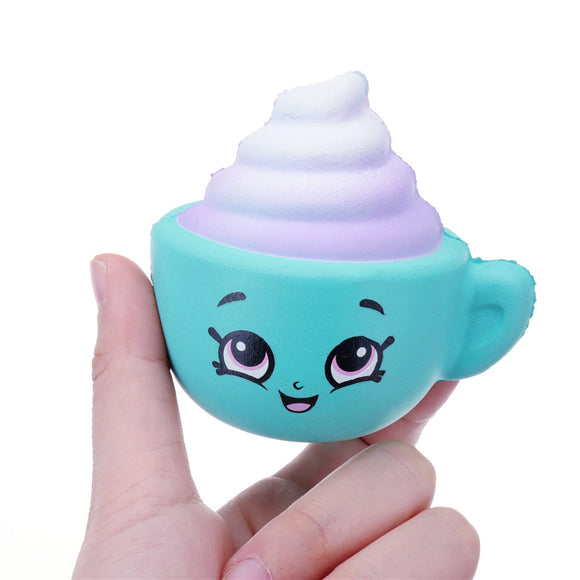 Squishy Cappuccino Cup Slow Rising Toy Cute Mini Pendant Gift Collection