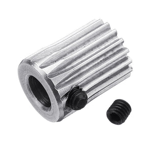 Stainless Steel Bondtech 17 Teeth Extruder Driver Gear Feeding Wheel For 3D Printer Accessories
