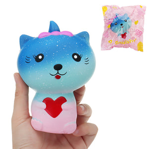 Galaxy Cat Squishy 13*9*7CM Slow Rising With Packaging Collection Gift Soft Toy