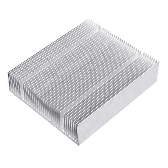 150x130x38mm Radiator Power Amplifier Heat Sink Dense Tooth