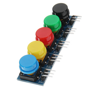 10pcs 12x12MM Big Key Module WAVGAT Push Button Switch Module With Hat High Level Output