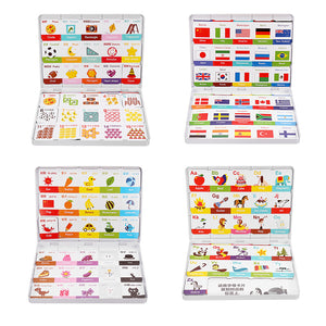 XIAOMI JIQIDAO Magnetic Board Game Toy Alphabet Color Figures National Flag