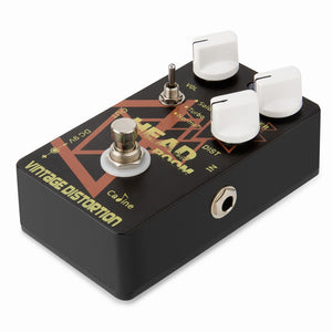 Caline CP-34 Vintage Distortion Guitar Effects Pedal Aluminum Alloy with 3 Way Selector Switch