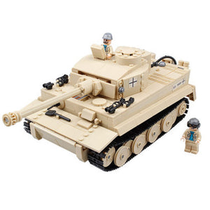 DIY 995pcs Assemble Building Block Tank Toy For Children