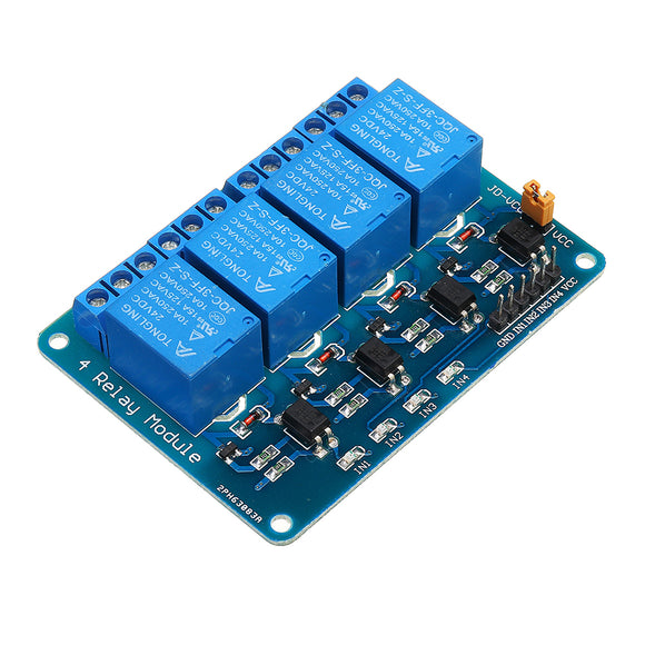 Geekcreit 24V 4 Channel Relay Module For Arduino PIC ARM DSP AVR MSP430